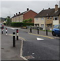 ST2990 : Monnow Way traffic calming near Livale Walk, Bettws, Newport by Jaggery
