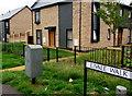ST2990 : Royal Mail drop box, Livale Walk, Bettws, Newport by Jaggery