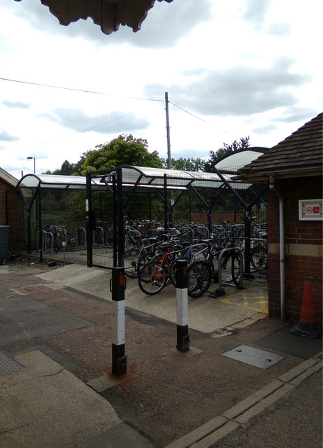Cycle Parking at Manningtree Railway Station