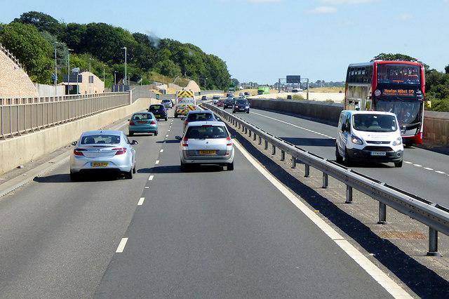 South Devon Highway near Aller Cross