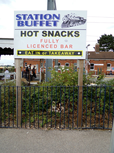 Station Buffet sign at Manningtree Railway Station