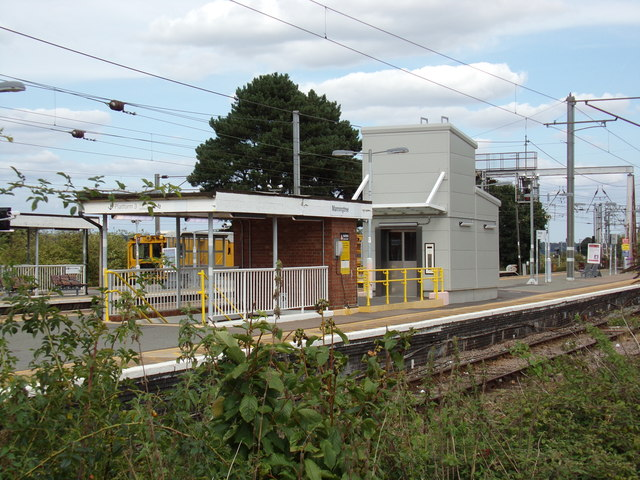 Entrance to the Subway at Manningtree Railway Station