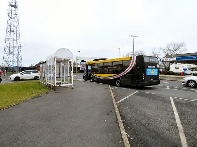 Bus at Mereside