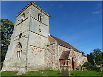 SJ5608 : Wroxeter - St Andrew's Church by Chris Gunns