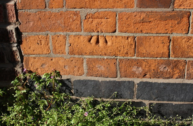 Benchmark on #1 Nottingham Road (St Saviour's Road face)