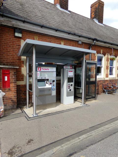Ticket Machines at Manningtree Railway Station