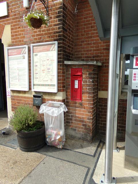Manningtree Station Victorian Postbox