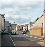 ST0107 : Cullompton: Redland Way by Martin Bodman