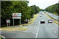 SX8877 : Junction and Bus Stop on the A380 near to Ideford by David Dixon