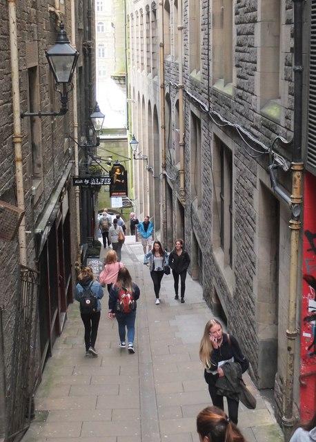 57cd1dbafa2cd Fleshmarket Close, Edinburgh © Jim Barton :: Geograph Britain and ...