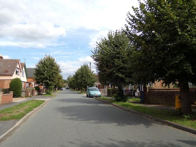 Brooklands Road, Cattawade