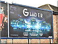 "J3674 : ""Glider"" poster, Belfast (August 2018) by Albert Bridge"
