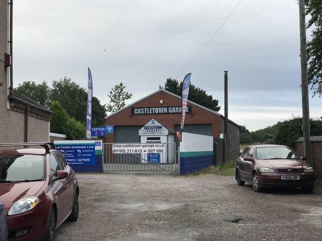 Garage in Alsagers Bank