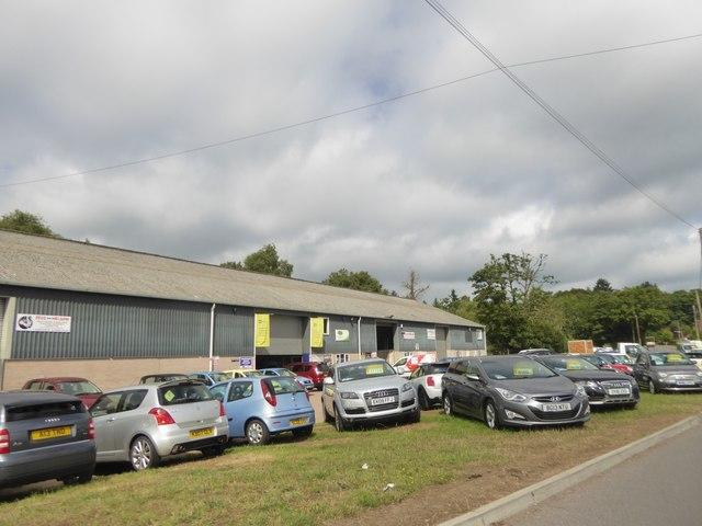 Used car sales, Whitecroft