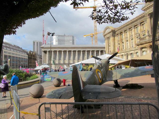 5bb76c6192119 RAF 100 Display Victoria Square... © Roy Hughes cc-by-sa 2.0 ...