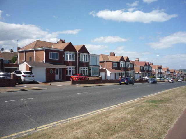 Houses on Coast Road (A183)