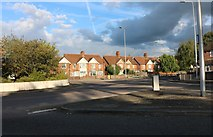 SU4766 : Roundabout on Andover Road, Newbury by David Howard
