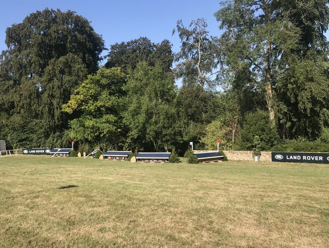Cross-country fences at Gatcombe Park