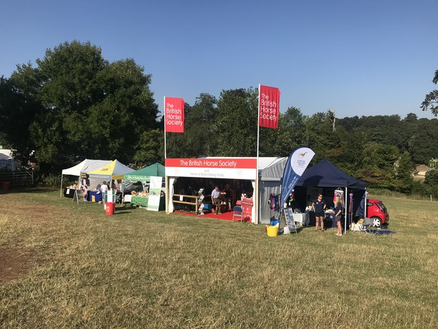 Animal welfare charities' stands at Gatcombe Park
