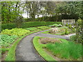 C1712 : The circular path in the herb garden, Town Park, Letterkenny by Humphrey Bolton