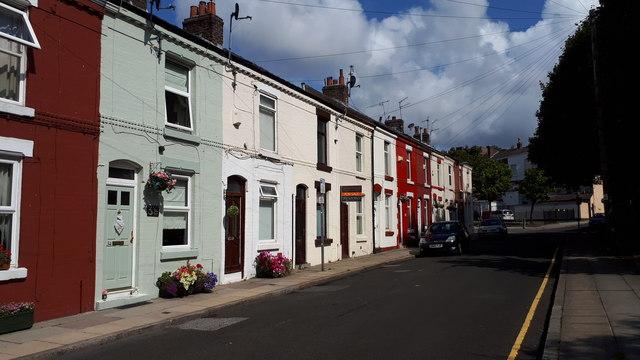 Kearsley Street, Kirkdale, Liverpool