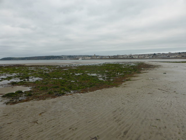 Looking towards Penzance at low tide