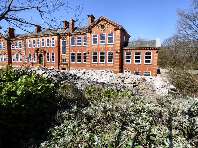 Former Grammar School awaits its fate