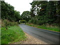 SE4070 : Lane heading west out of Norton-le-Clay by Christine Johnstone