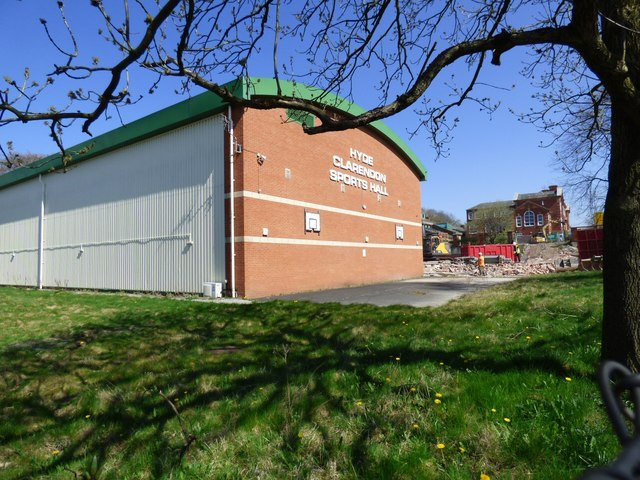 Hyde Clarendon Sports Hall
