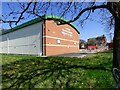 SJ9595 : Hyde Clarendon Sports Hall by Gerald England