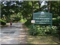 SU3306 : Denny Wood camp site entrance by Hugh Venables