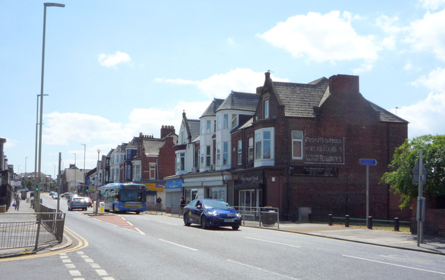 Shops on Westoe Road, South Shields