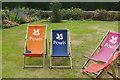 SJ2106 : Powis Deckchairs by Stephen McKay
