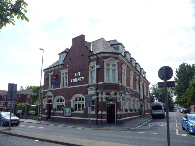 The County public house, South Shields