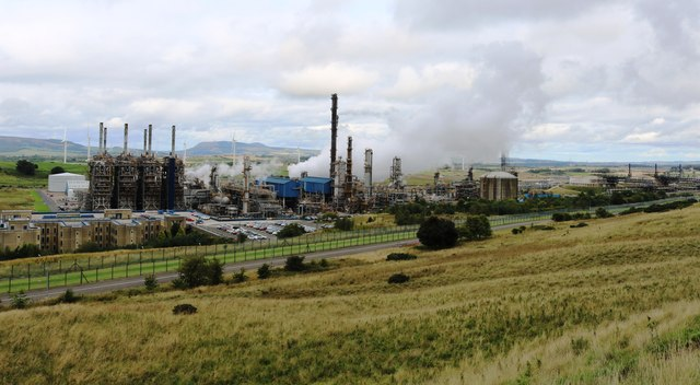 Mossmorran NGL fractionation plant