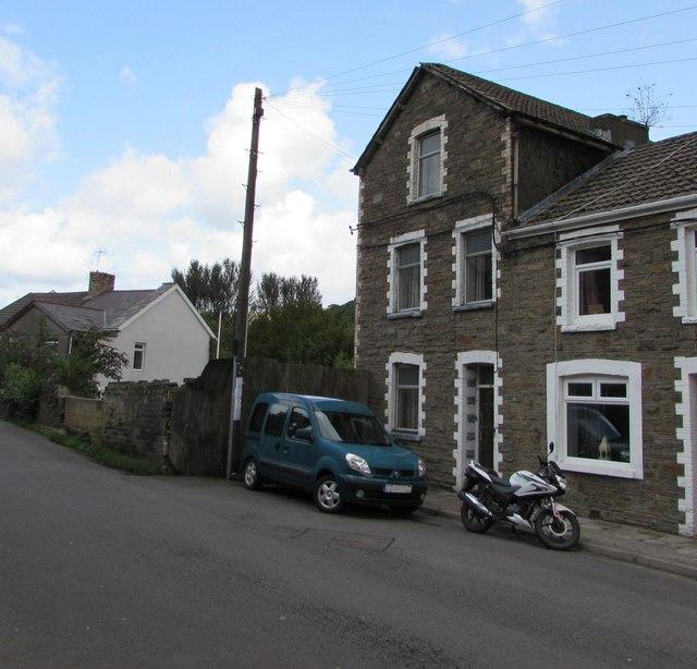 Three-storey house, Llywelyn Street, Ogmore Vale