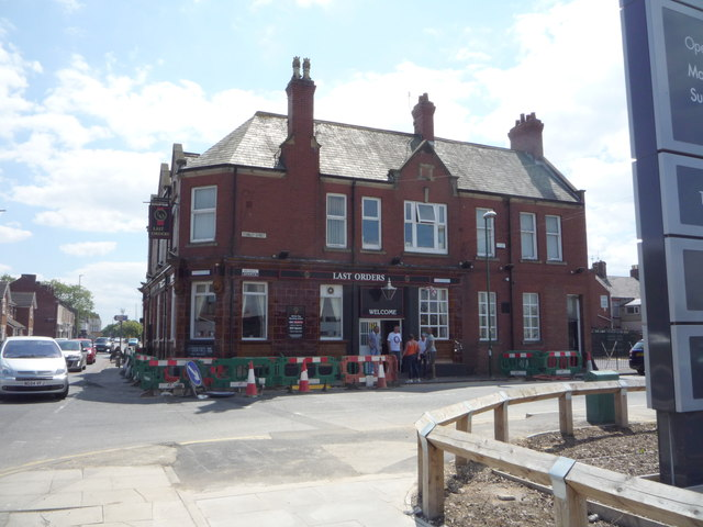 The Last Orders public house, South Shields