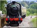 SP0838 : Train from Cheltenham to Broadway, Gloucestershire and Warwickshire Steam Railway by Brian Robert Marshall