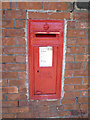 NZ4059 : George V postbox on Park Avenue, Sunderland by JThomas