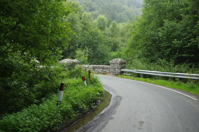 B4393 round Lake Vyrnwy