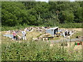 SJ8248 : Apedale Valley Light Railway - replica WWI trench by Chris Allen