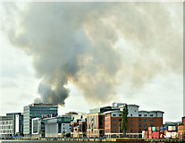 J3374 : Primark (Bank Buildings) fire, Belfast - August 2018(1) by Albert Bridge
