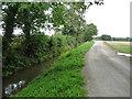 SE4172 : Bridleway to Dishforth, alongside Cundall Beck by Christine Johnstone