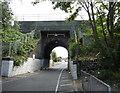 NZ3362 : Railway bridge over Hedworth Lane, Hedworth, Jarrow by JThomas