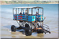 SX6443 : Sea tractor, Burgh Island by Stephen McKay
