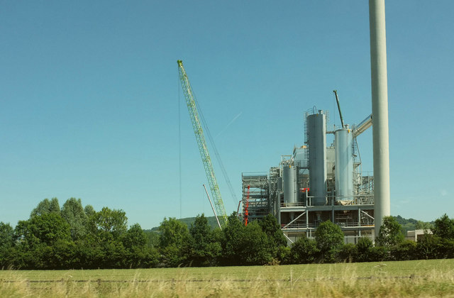 Energy from Waste facility under construction