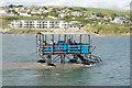 SX6444 : Sea tractor, Burgh Island by Stephen McKay