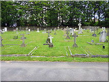 SU9948 : Specially marked graves, The Mount cemetery by Robin Webster