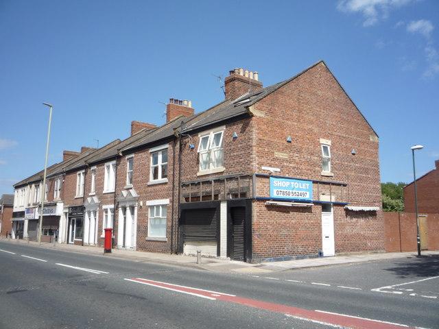 Shops on Boldon Lane, South Shields