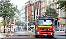 J3374 : Primark (Bank Buildings) fire, Belfast - August 2018(12) by Albert Bridge
